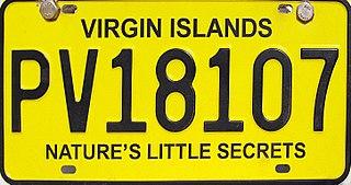 Vehicle registration plates of the British Virgin Islands British Virgin Islands vehicle license plates