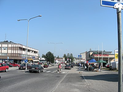 Lieksa centrum