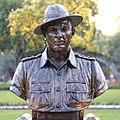 Lieutenant M K Pandey statue at Param Yodha Sthal Delhi.jpg