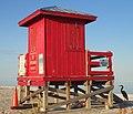 Lifeguard shack sand key park 2013.jpg