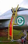 Lightning T.55 entrance ladder, Midland Air Museum. (37992277435).jpg