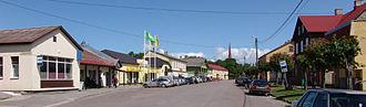 Lihula - Street in Lihula.
