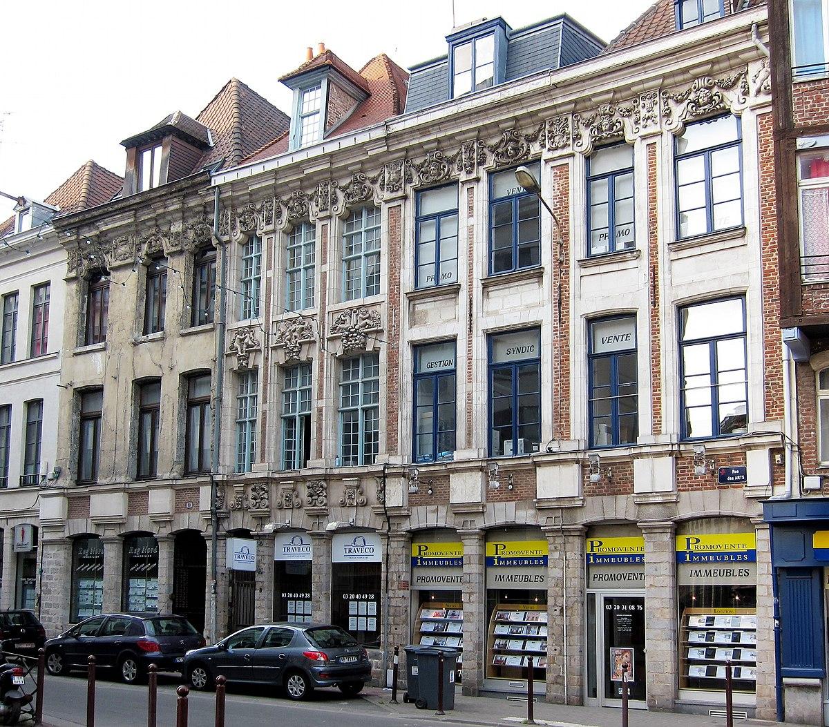 Rue des arts lille wikip dia - Salon de la gastronomie lille ...