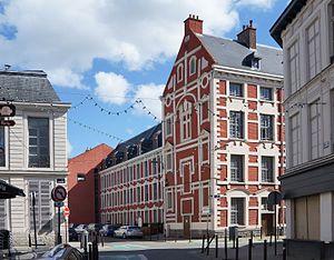 École des arts industriels et des mines - Image: Lille Eté2016. Hôtel du Lombard