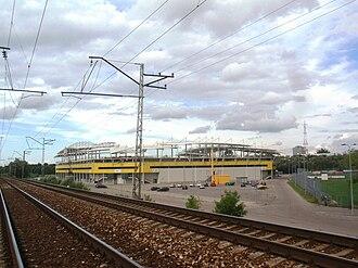A. Le Coq Arena - Image: Lilleküla staadion 2010 08 09