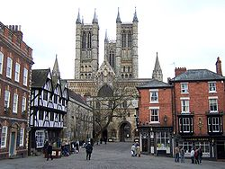 Lincoln Cathedral from Castle Hill.jpg