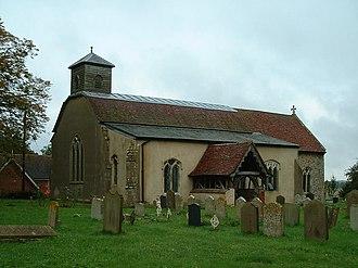 Lindsey, Suffolk - St Peter's church