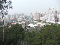 Lingshan Islamic Cemetery - city view - DSCF8486.JPG