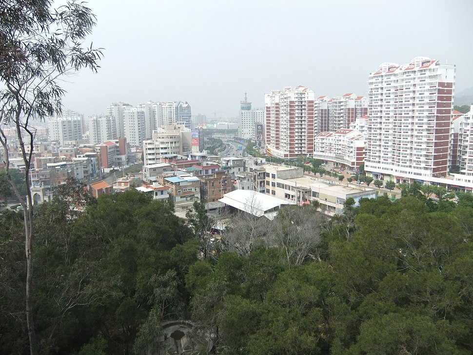 Lingshan Islamic Cemetery - city view - DSCF8486