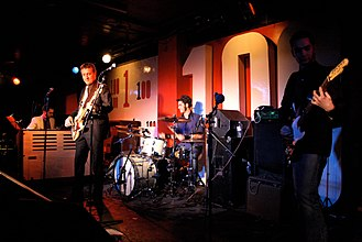 100 Club - Link Quartet on stage at the 100 Club in 2011