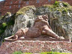 Sculpture du Lion de Belfort