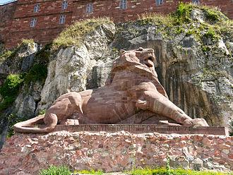 Territoire de Belfort - Image: Lion Belfort
