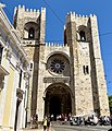 Lisbon cathedral, on our 4x4 tour (47851610571).jpg