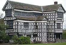 Little Moreton Hall, built in stages between 1504-62