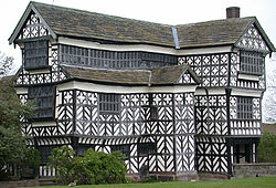 Little Moreton Hall, Südflügel