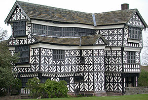 Little Moreton Hall - Little Moreton Hall's south range