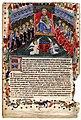 Livre I des annales (1295-1532). Les portraits des capitouls de l'année 1412-1413 et La cour de la vierge Marie ou La vierge à la pomme.jpg