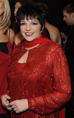Liza Minnelli a The Heart Truth Fashion Show-n 2008-ban