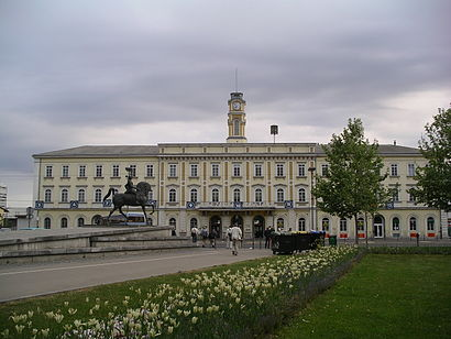 How to get to Ljubljana Railway Station with public transit - About the place