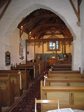 Llanbadrig - Image: Llanbadrig Church 3
