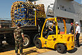 Loading the HNLMS Pelikaan at Guantanamo, to support Haiti earthquake relief.jpg