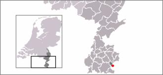 Bocholtz - Image: Locatie Bocholtz