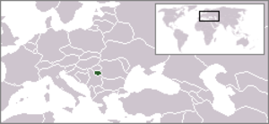 Symkaria - Location of Symkaria in Eastern Europe