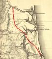 Location Map Kings Road Florida-Gerorgia Florida section.png