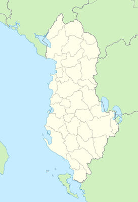 Location map Albania