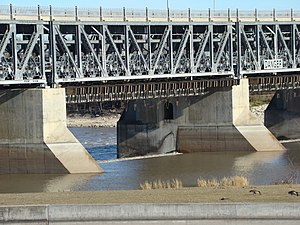 Rural Municipality of St. Andrews - Image: Lockport Dam on Red River Manitoba Canada (4)