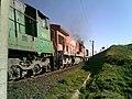 Locomotivas de comboio que passava sentido Boa Vista em viaduto na Variante Boa Vista-Guaianã km 199 em Itu - panoramio.jpg