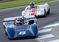 Lola T163 & Lotus 23B at Barber 2010.jpg