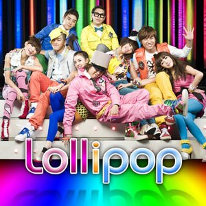 Lollipop (Big Bang and 2NE1 song) - Image: Lollipop Single