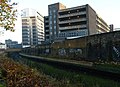 London-Woolwich, railway & car park.jpg