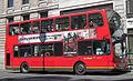 London General bus Volvo B7TL Wrightbus Eclipse Gemini, Strand, 26 June 2011.jpg
