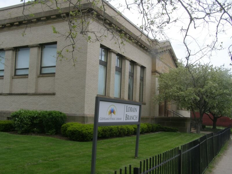Lorain Ave Carnegie Library in the City of Cleveland, Ohio
