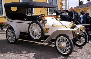 Automotive industry in France - 1912 Lorraine-Dietrich 12 HP Torpedo