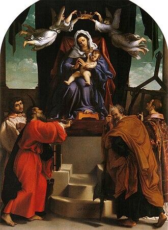 1546 in art - Lotto – San Giacomo dell'Orio Altarpiece