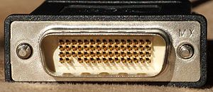 Low-force helix - DMS-59 connector (note missing pin 58)
