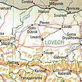 Lowetsch Bulgaria 1994 CIA map.jpg