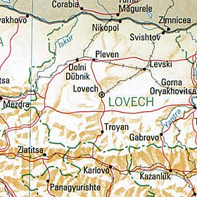 Lowetsch Bulgaria 1994 CIA map.jpg