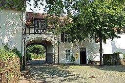 Luedinghausen 0007 an der Burg Luedinghausen