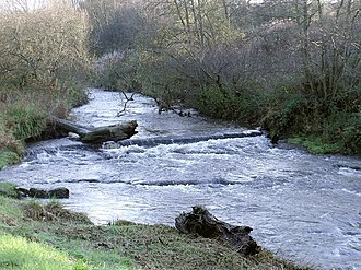 Luggie Water - Image: Luggie Water Ford geograph.org.uk 1573317