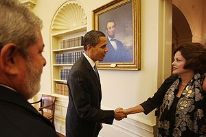 Lula Dilma and Obama