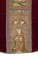 MCC-19207 Rood kazuifel met verrijzenis, geboorte Christus, diverse heiligen en wapens (5).tif