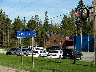 M'Chigeeng First Nation - Image: M Chigeeng FN 1