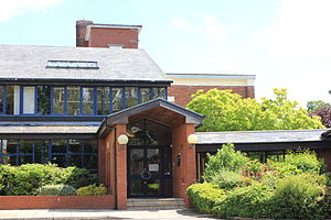 Manchester High School for Girls - Image: MHSG front entrance