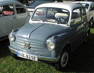 Fiat 600 - NSU Fiat Jagst