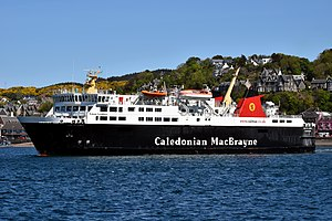 MV Isle of Lewis - Image: MV Isle of Lewis Leaving Oban, 8 May 2017