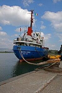 MV Rachel Corrie stern view.jpg